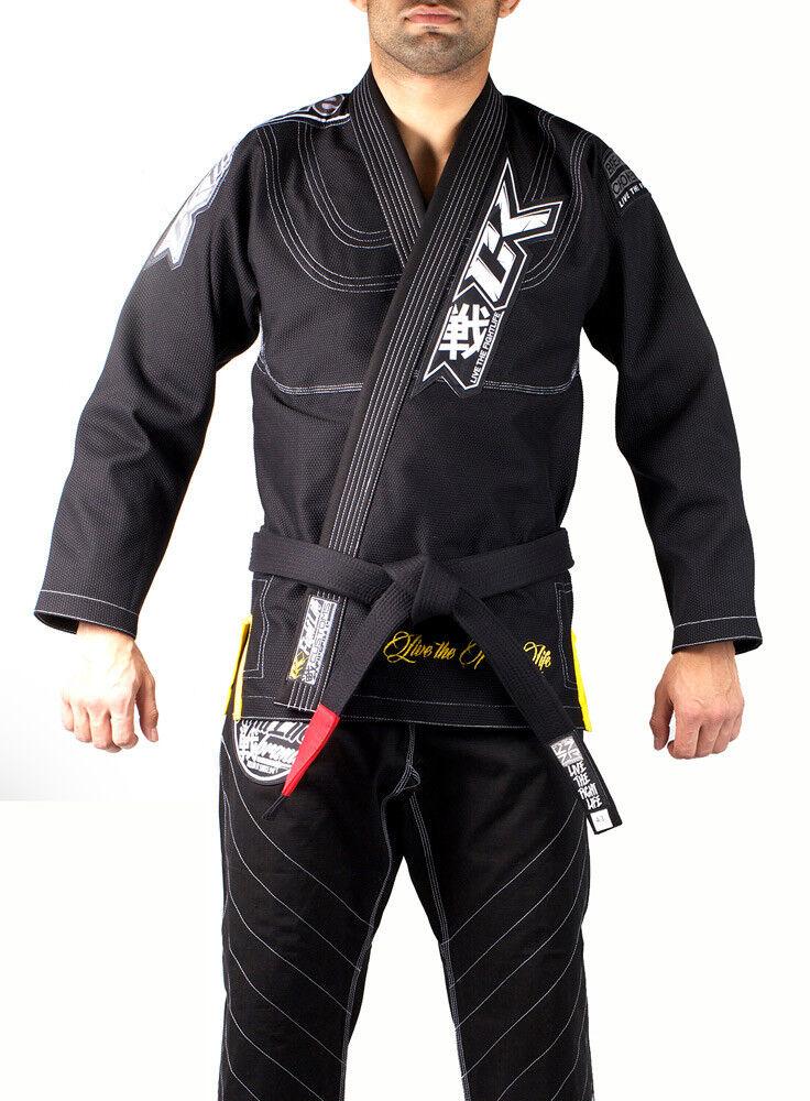Contract Killer Uomo Ck Disciplina Ju Jitsu Gi  Nero