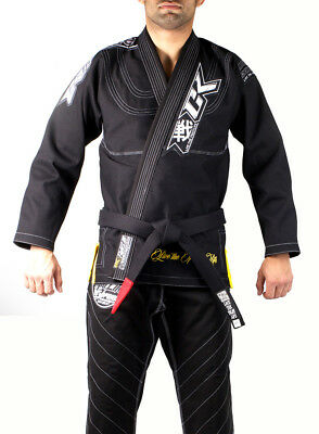 Orderly Contract Killer Uomo Ck Disciplina Ju Jitsu Gi Sporting Goods Nero To Invigorate Health Effectively