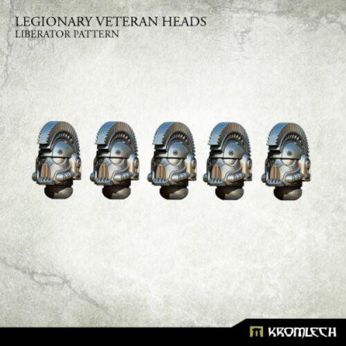 Liberator Pattern Kromlech Entièrement neuf dans sa boîte Légionnaire Vétéran têtes KRCB 208 5