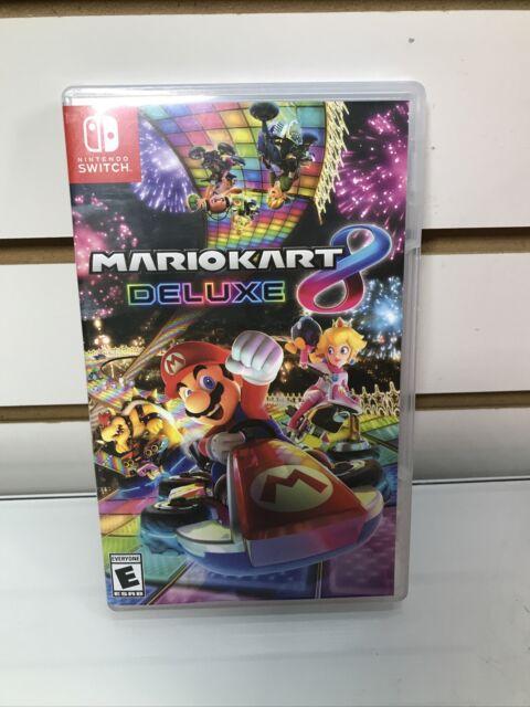 Mario Kart 8 Deluxe Nintendo Switch Nice Condition