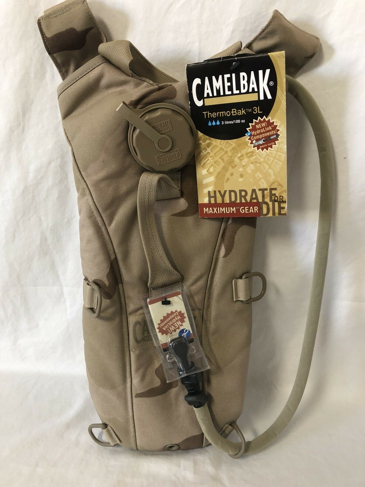 CAMELBAK DCU MAXIMUM GEAR THERMOBAK 3L 100  OZ  NEW WITH TAGS  fashionable