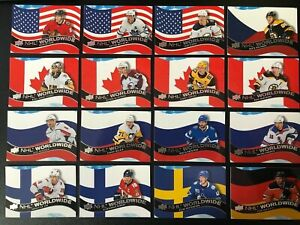 2020-21-Upper-Deck-Series-1-NHL-Worldwide-Lot-Of-16-Top-Stars