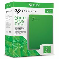 Seagate Game Drive For Xbox - 2tb Usb 3.0 Portable 2.5 Inch External Hard Drive