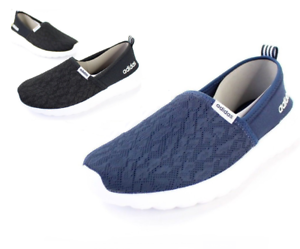 new concept 72752 e9954 Image is loading Adidas-Cloudfoam-Lite-Racer-Slip-On-Shoe-Variety