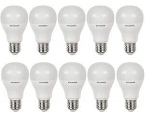 10-x-Sylvania-TOLEDO-A60-E27-V4-9-W-Homelight-DEL-810-lm-classe-energetique-Bon-etat