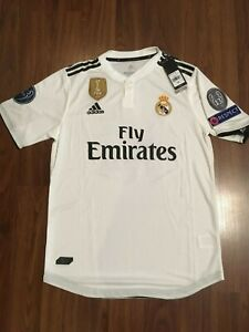 designer fashion 1f542 a416f Details about Adidas Real Madrid 2018/19 Home Toni Kroos #8 Jersey size M  Champions League