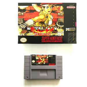 Metal Max Returns for snes game cartridge english translated