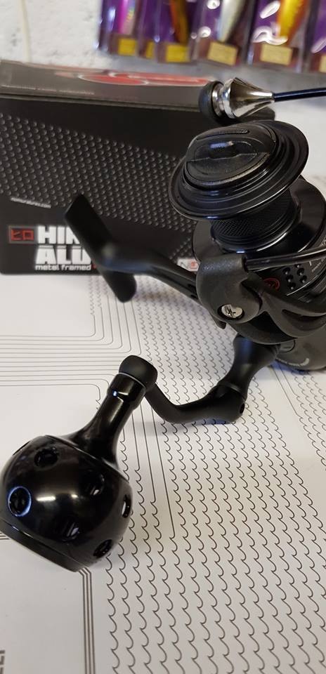 Nomura Hiro Alu 30  metal framed 11bb, fixed spool spinning, lure fishing reel