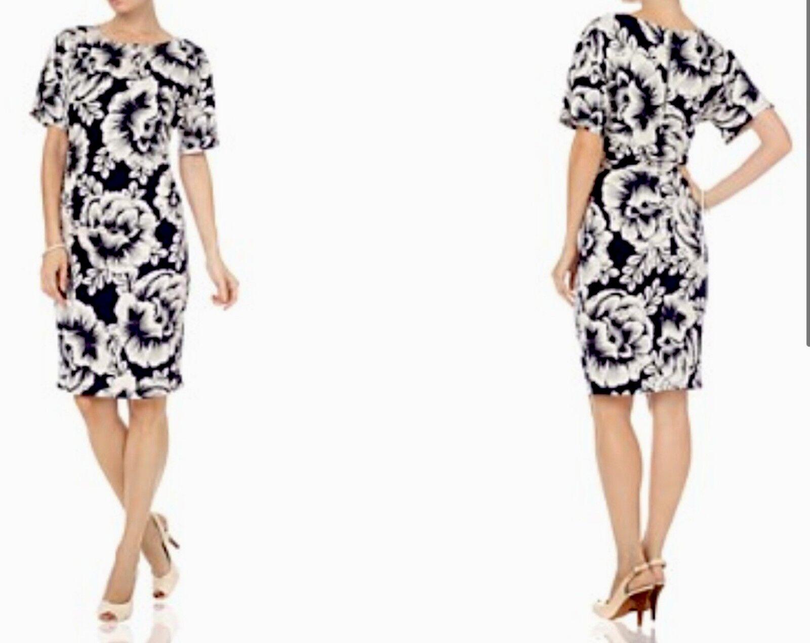 BNWT Phase Eight  8 Vita Kimono Blau  stone Jersey Dress 14