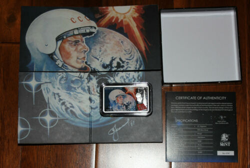 2011 Niue 2$ First Man in Space Yuri Gagarin .999 Proof 1 oz Silver Coin!!