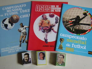 ALBUM-WORLD-CUP-CHILE-62-ENGLAND-66-AND-MEXICO-70-album-set-100-complete
