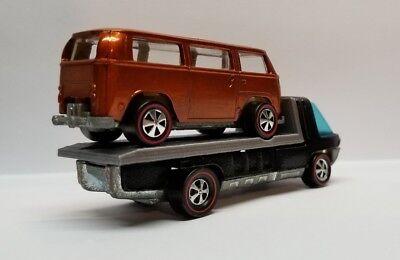 Hot Wheels Redline HeavyWeight Long Base Truck Custom-Fire Tanker Bed-ONLY