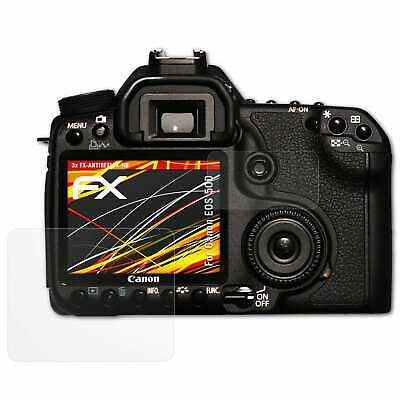 Antirreflejo Protector de pantalla para Canon EOS protección de película de vidrio mate RP
