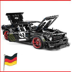 Mustang-hoonicon-v3-X-42115-42056-42083-42110-42111-Technic-blocs-briques-MOC
