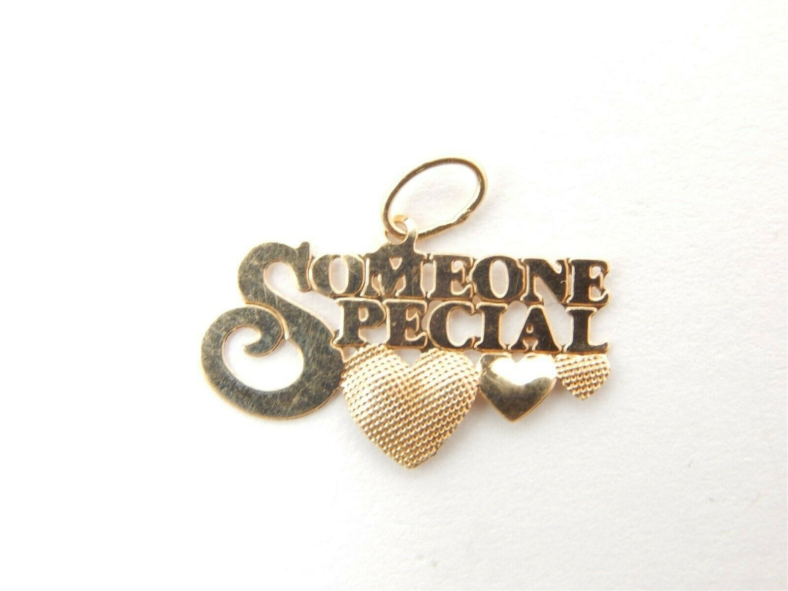 Cute 14K Yellow gold  Someone Special Charm