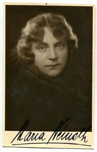 MARIA-NEMETH-orig-Autogramm-autograph-signed