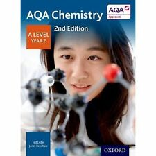 AQA Chemistry A Level Year 2 Student Book by Ted Lister, Janet Renshaw     NEW