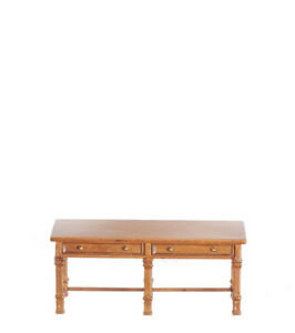 1:12 Dolls House Pine Side/hall Table J01114wn-afficher Le Titre D'origine