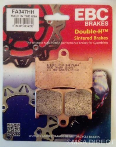 Victory High Ball (2012 to 2017) EBC FRONT Sintered Brake Pads (FA347HH) (1 Set)