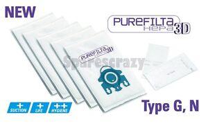 Original 3d Miele Gn G /& n Allervac Sensor 5000 Serie Tasche /& Filter Packung
