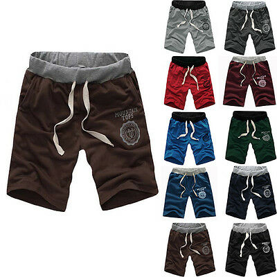Mens Casual Sport Dance Gym Trousers Baggy Jogging Harem Shorts Pants 10 colors