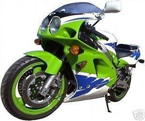Aerosol spray can Kawasaki lime green code 7f  direct gloss 400ml