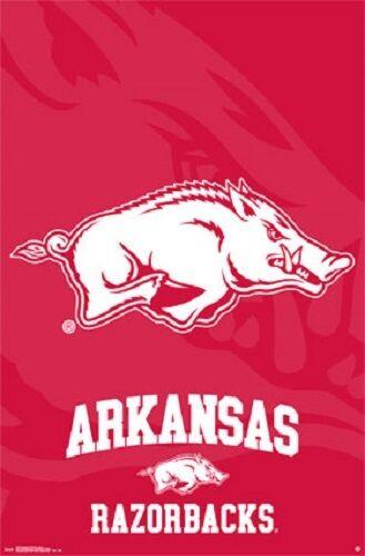 """University of Arkansas Logo Poster 22.5 x 34/"""""""
