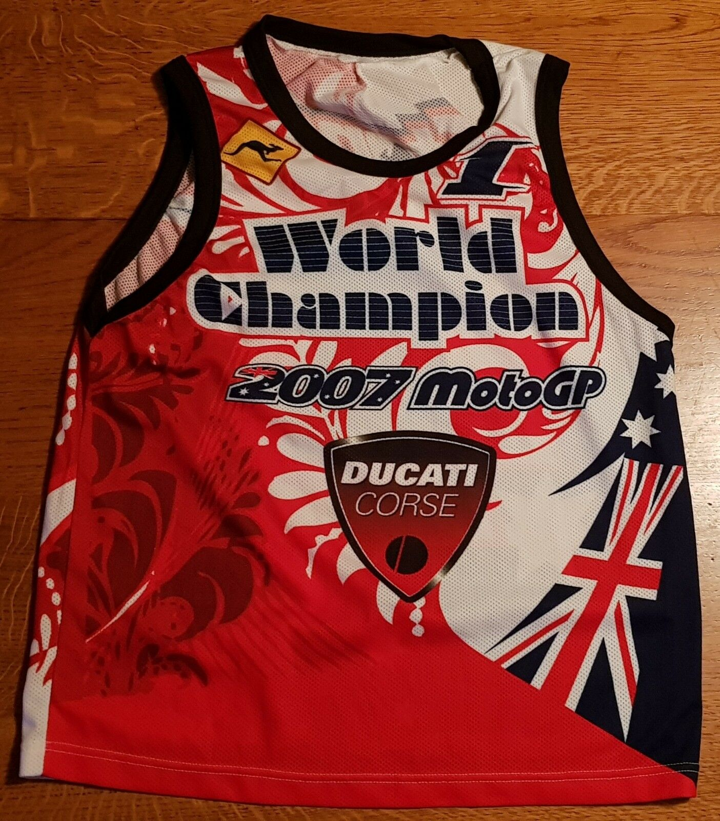 DUCATI CORSE STONER  27 CANOTTIERA, WORLD CHAMPION 2007 MOTOGP 1