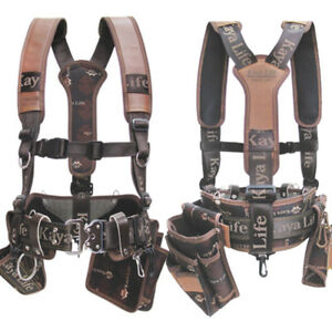 Original Kaya Life Kl 600 Work Tool Belt Suspenders Drill