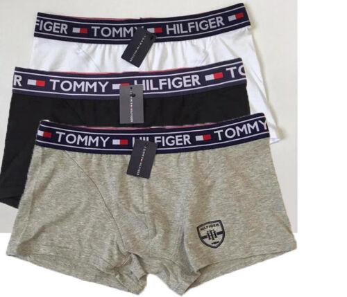 3er Pack Tommy Hilfiger Herren Boxershorts Unterhose Höschen Premium Essentials