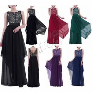 Sexy-Women-Long-Ball-Gown-Party-Prom-Cocktail-Wedding-Bridesmaid-Evening-Dress