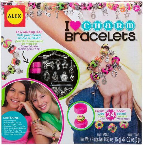 Alex Toys Make It Yourself Heart Charm Bracelets Making Kit
