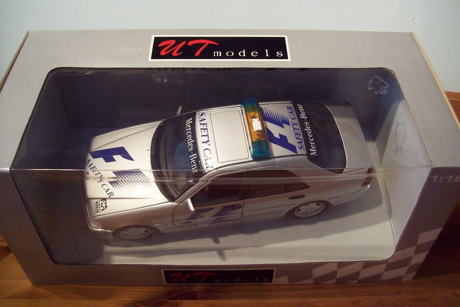 1 18 UT MODELS 26105 MERCEDES BENZ C CLASS AMG SAFETY CAR F1 1997