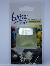 (5,82€/10 g) 1x brise® car Gel Festival in Capri Lufterfrischer Capri Limonen