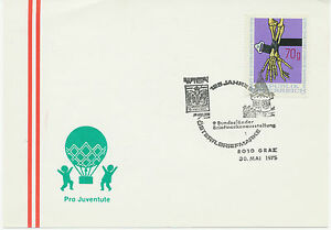 A 8010 Graz 125 years Österr Stamp -9. Federal States Stamps Exhibition