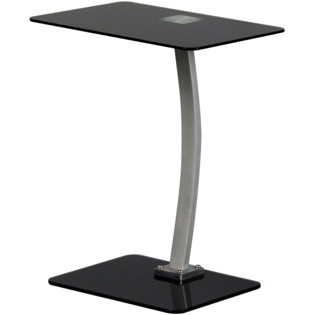 Charles Jacobs Glass Laptop Computer Stand Table Desk Sofa Notebook Portable