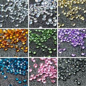 6000-Mixed-WEDDING-DECORATION-Scatter-Table-Crystals-DIAMONDS-ACRYLIC-CONFETTI