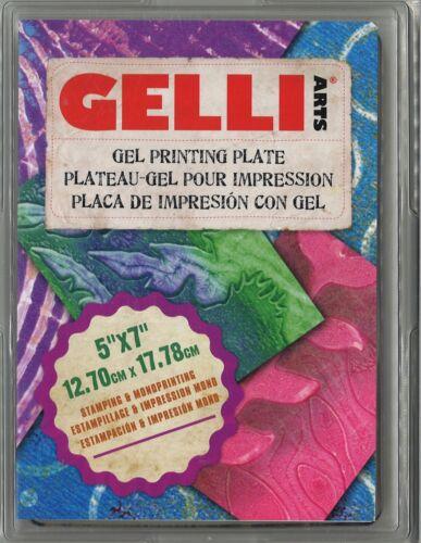"12,70cm x 17,78cm Gelli Arts gel Printing plate 5/"" x 7/"""