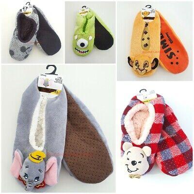 Primark Disney THE LION KING SIMBA 3D Novelty Plush Slipper Socks Slippers 3-5