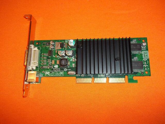 NVIDIA GeForce4 MX 440 (P117) 64 MB DDR SDRAM AGP 4x/8x VIDEO CARD.