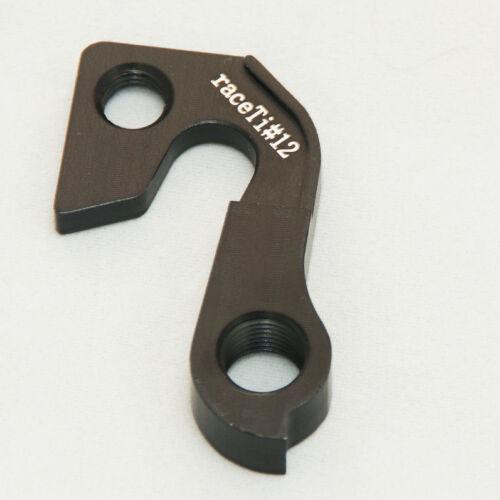 GT Gear Mech Derailleur Hanger Frame Saver Dropout CNC raceTi replaces MHGT62