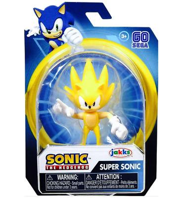 "2020, Jakks Pacific Go Sega Sonic The Hedgehog SONIC 2.5/"" Figure"