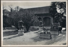 1920's CHINA GRAVURE PAGEANT OF PEKING DONALD MENNIE -  ORNAMENTS SUMMER PALACE