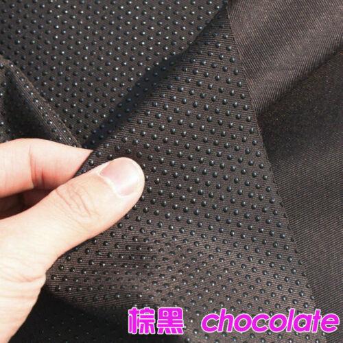1 Meter rutschfester Stoff Gummi Punkte Nähen Tuch Stoff für Heim Schuhe Basteln