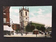 Vintage RP Postcard: Lincs: #T5: St Peter At Arches Church Lincoln
