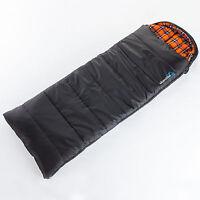 Skandika Greenland Luxus Decken Schlafsack Koppelbar 220x80 Bis -25°c Links Neu