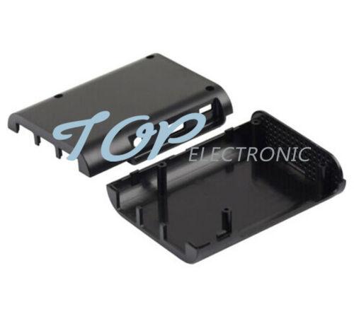 5PCS Black ABS Protective Enclosure Case Box For Computer Raspberry Pi 2 B//B V1