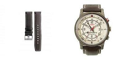TIMEX  IQ/ E COMPASS LEATHER  OR RESIN STRAP. 301 on case back