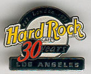 Hard rock cafe los angeles 2001 hrc 30 years 30th anniversary logo