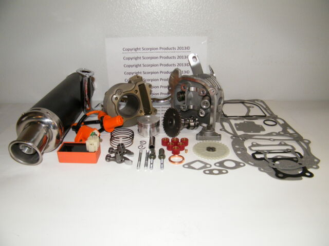 100cc Big Bore Kit Performance Power Pack Gy6 50cc QMB139 Chinese Scooter Parts